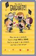 Well Done Graduate Graduation Card